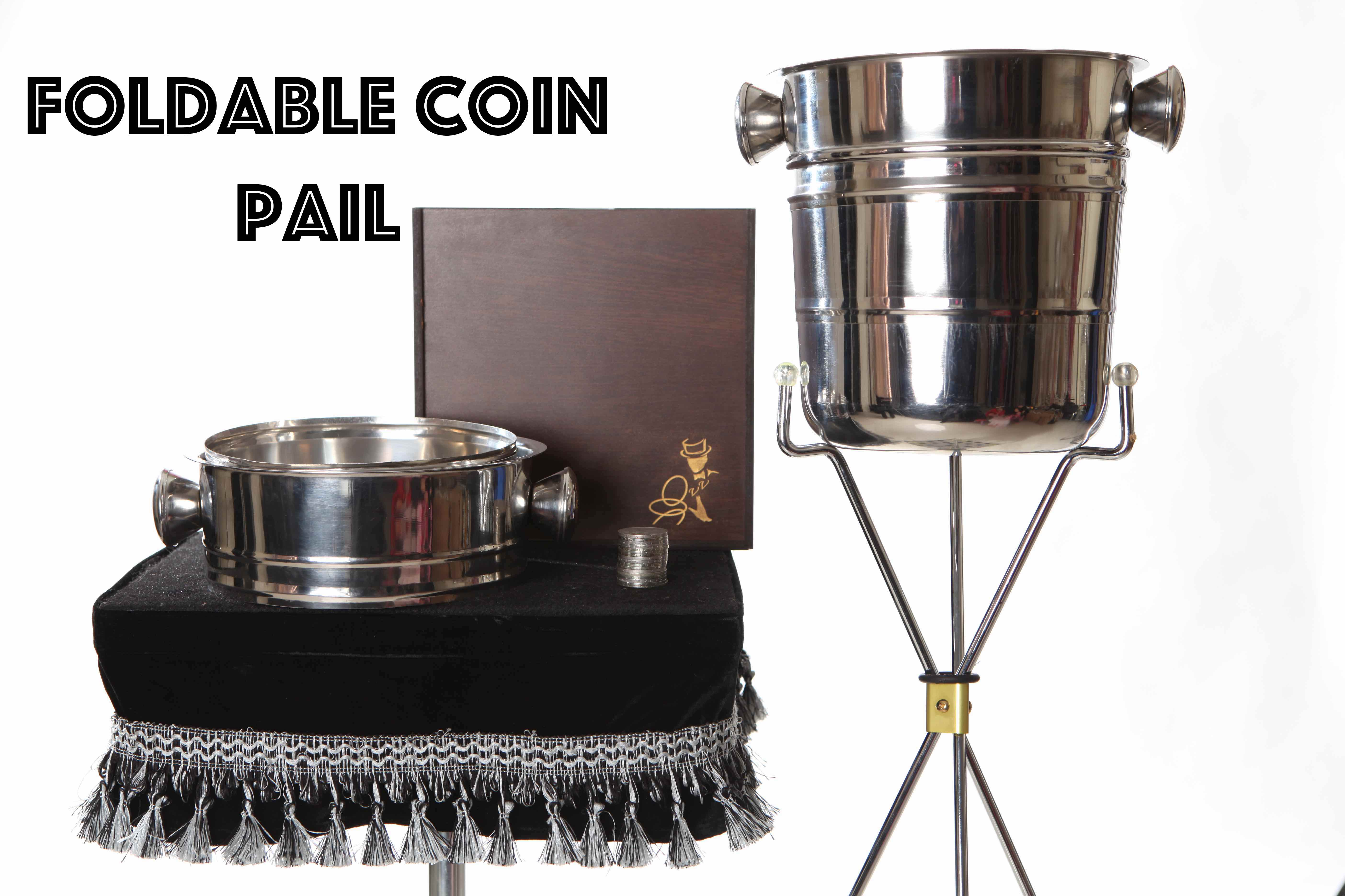 Foldable Coin Pail